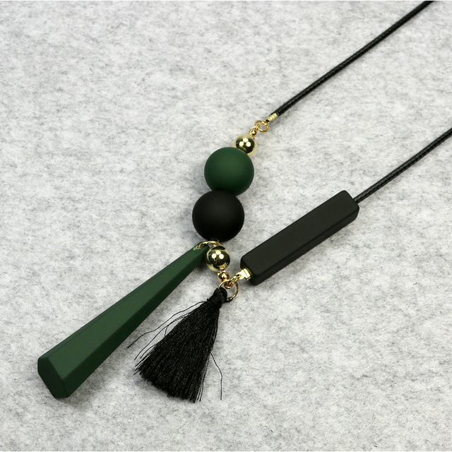 ZN Women Leather Tassels...