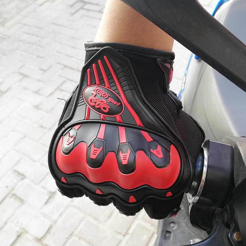 ファッション夏冬フルフィンガー moto rcycle 手袋 gants moto luvas moto クロスレザー moto rbike guantes moto レース手袋