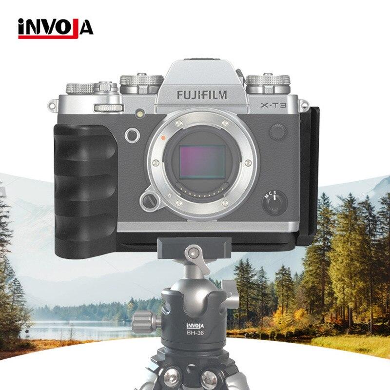 Quick Release Plate XT3 L-shaped Horizontal Vertical Aluminum Alloy Bracket PTZ Camera Stability Bracket For Fuji Fujifilm X-T3