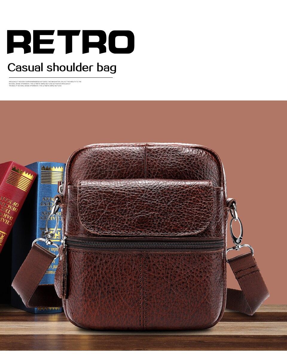 13 men bag leather