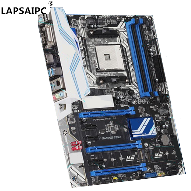 Lapsaipc SY-GAMING B350 desktop PC mainboard gaming motherboard B350 Socket AM4 DDR4 SATA3.0 image