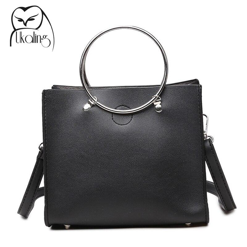 UKQLING Brand Women Messenger Bags Ladies Tote Small Shoulder Bag Woman PU Leather Handbag Designer Crossbody Bag Bolsas SAC адаптер питания