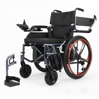 Aluminum controller joystick fashion cheap automated electric wheelchair for the disabled and elderly