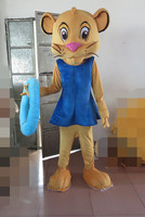 Lion King Simba Mascot Costume custom costume anime cosplay kits mascotte themed fancy dress carnival costume