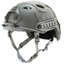 Для прыжков с парашютом Быстрый шлем ABS Shell(серый