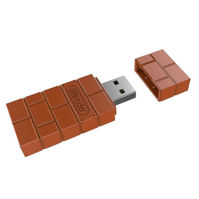 Timur Vita 8Bitdo Nirkabel USB Bluetooth Adapter Receiver Untuk Windows Mac untuk Nintend Switch untuk PS3 Controller R60