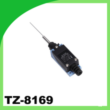 waterproof Metal end Cat whisker type limit switch tz-8169 micro switch water resistant