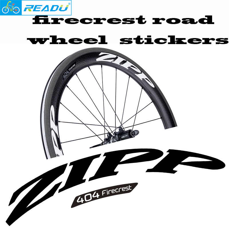 2019 firecrest road wheel set color stickers 303 404 808 repair parts sticker