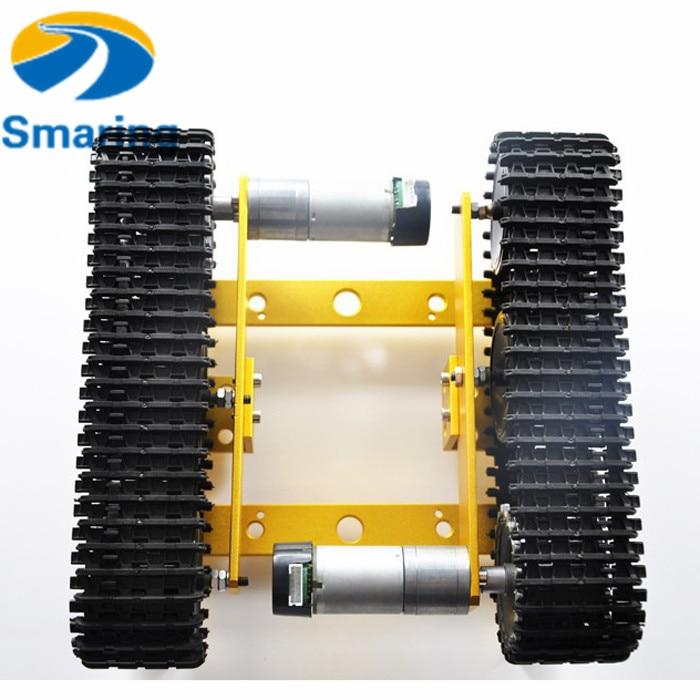 Sammeln & Seltenes T200 Metall Roboter Tank Auto Chassis Raupe Zubehör Fernbedienung Verfolgt Crawler Rad Diy Spielzeug Roboter Modell Elegante Form Rc-panzer