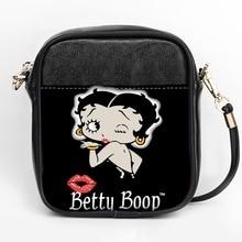 Модная Сумка слинг Бетти боп на заказ, женские сумки слинг через плечо, Кожаная мини сумка тоут для девочек, сумка слинг для вечерние НКИ «сделай сам»