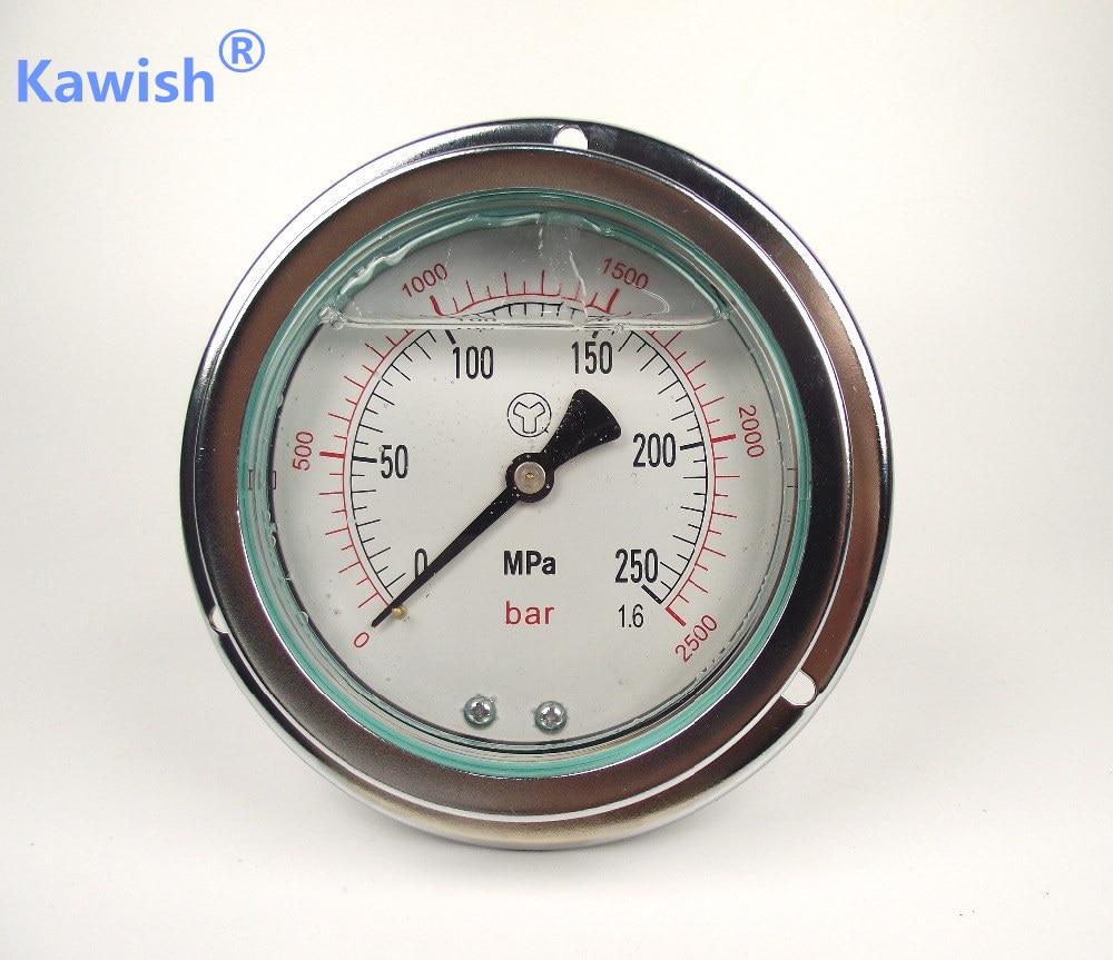 250Mpa Diesel moteur à haute pression de carburant mètre rampe commune haute pression mètre jauge à carburant 2500bar haute pression mater