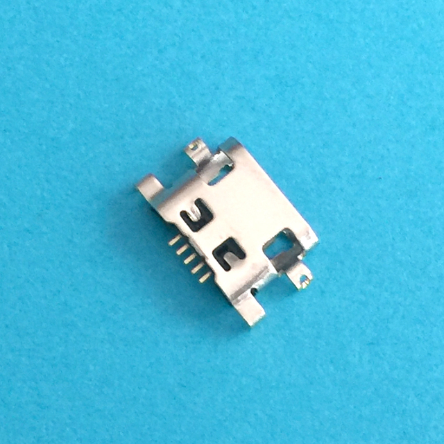 20 piezas Micro conector de puerto de carga USB para Lenovo A708t S890 para Alcatel 7040N para HuaWei G7 G7-TL00