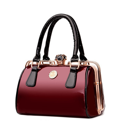 купить New Hot Patent Leather Fashion Women Handbags High Quality Ladies Shoulder Bags Female Girl Famous Brand Luxury Crossbody Bag