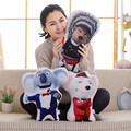 New 2017 Movie SING Plush Toy Doll Stuffed Pillow For Children 7 Styles #ST170226