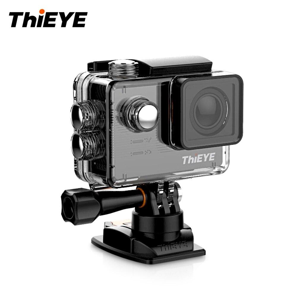 ThiEYE E7 Sport Action Kamera Stimme Fernbedienung 4 karat WiFi Sport Kamera 14MP HD Mit 2 ''IPS Bildschirm wasserdichte Action Kamera