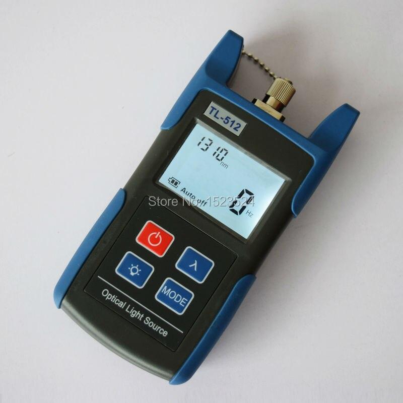 Multimètre optique FTTH TL510A compteur de puissance optique + TL512 1310/1550nm Source de lumière optique - 6