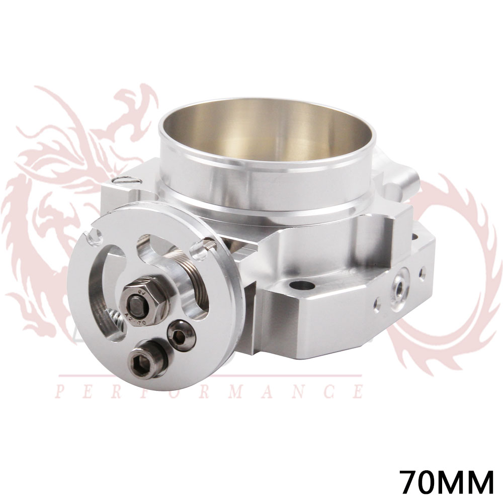 KYLIN STORE 70MM Aluminum Throttle Body For Honda B16 B18 D16 F22 B20 D B H