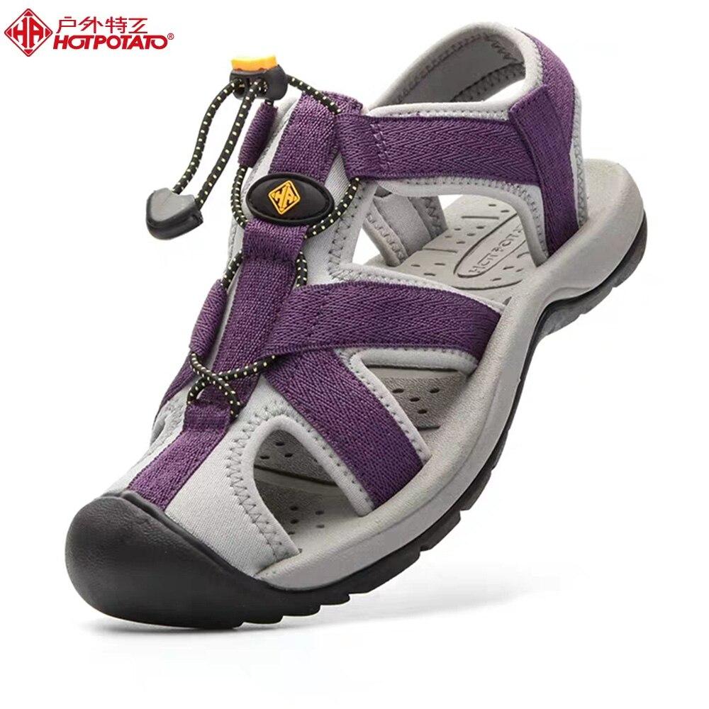 Hot Potato Beach & Outdoor Sandals Women Outdoor Sports Flip Flops Light Weight Sneakers Casual Summer Anti-Slipper Shoes Men B3