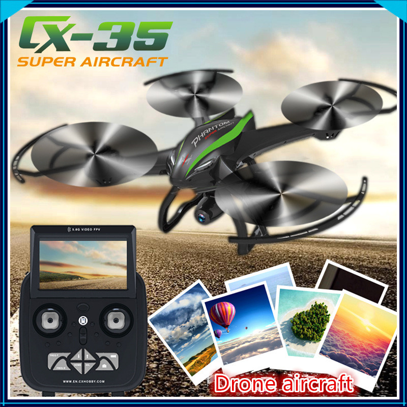 5 8G RTF RC font b drone b font cx 35 With 720P HD Camera One