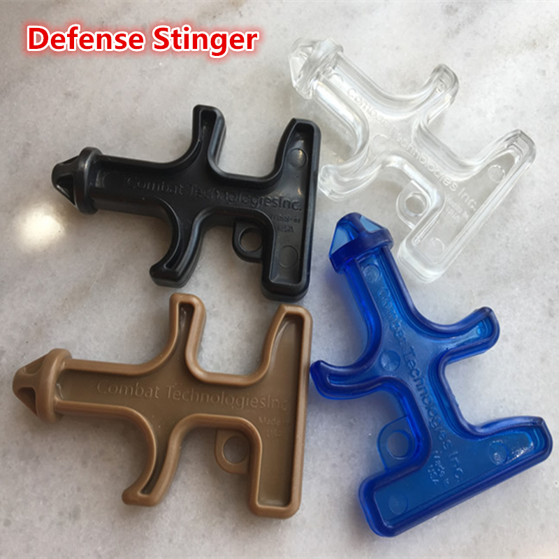 New Items Mini Pocket Nylon Plastic Steel Self Defense Stinger Protection Tool Outdoor Sports Camping Defensa Personal Kits