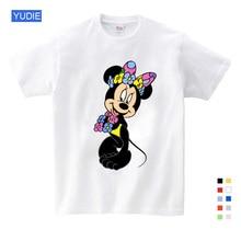 Cartoon children Mickey T shirts mouse short sleeve T-shirt Donald Baby / boy girl t summer shirt o-Neck 3T-9