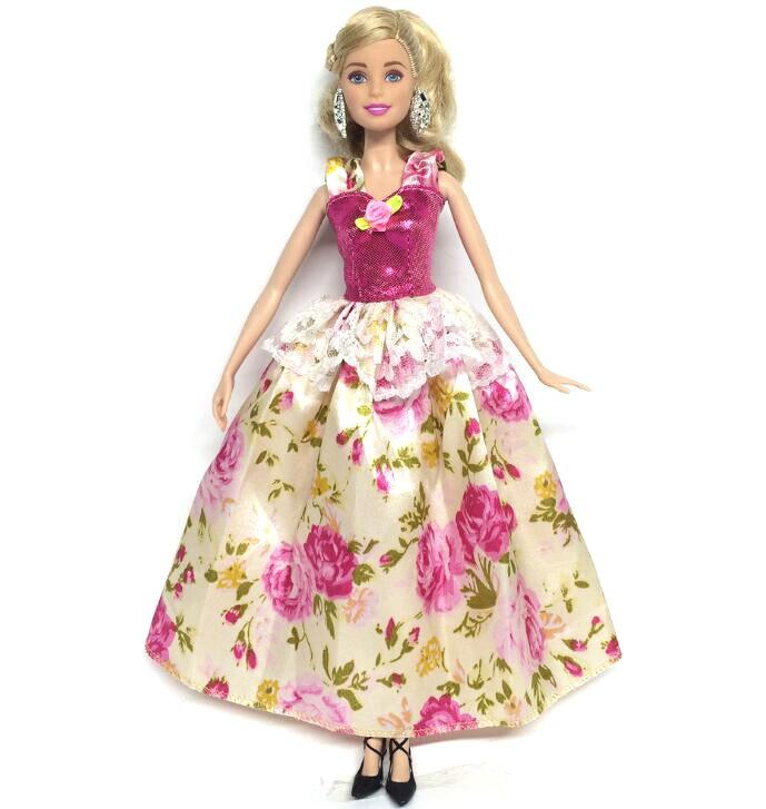 NK One Pcs Princess Doll New handmake wedding Dress