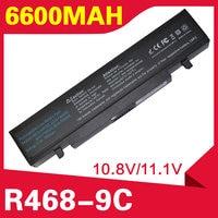 6600mAh battery for Samsung R530 R540 R519 Q430 Q528 R428 NP R519 NP R522 AA PB9NC5B AA PB9NC6B AA PB9NS6B AA PL9NC2B AA PL9NC6W