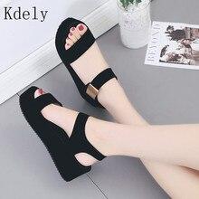 Platform Sandals Shoes Women High Heel wedges Shoes