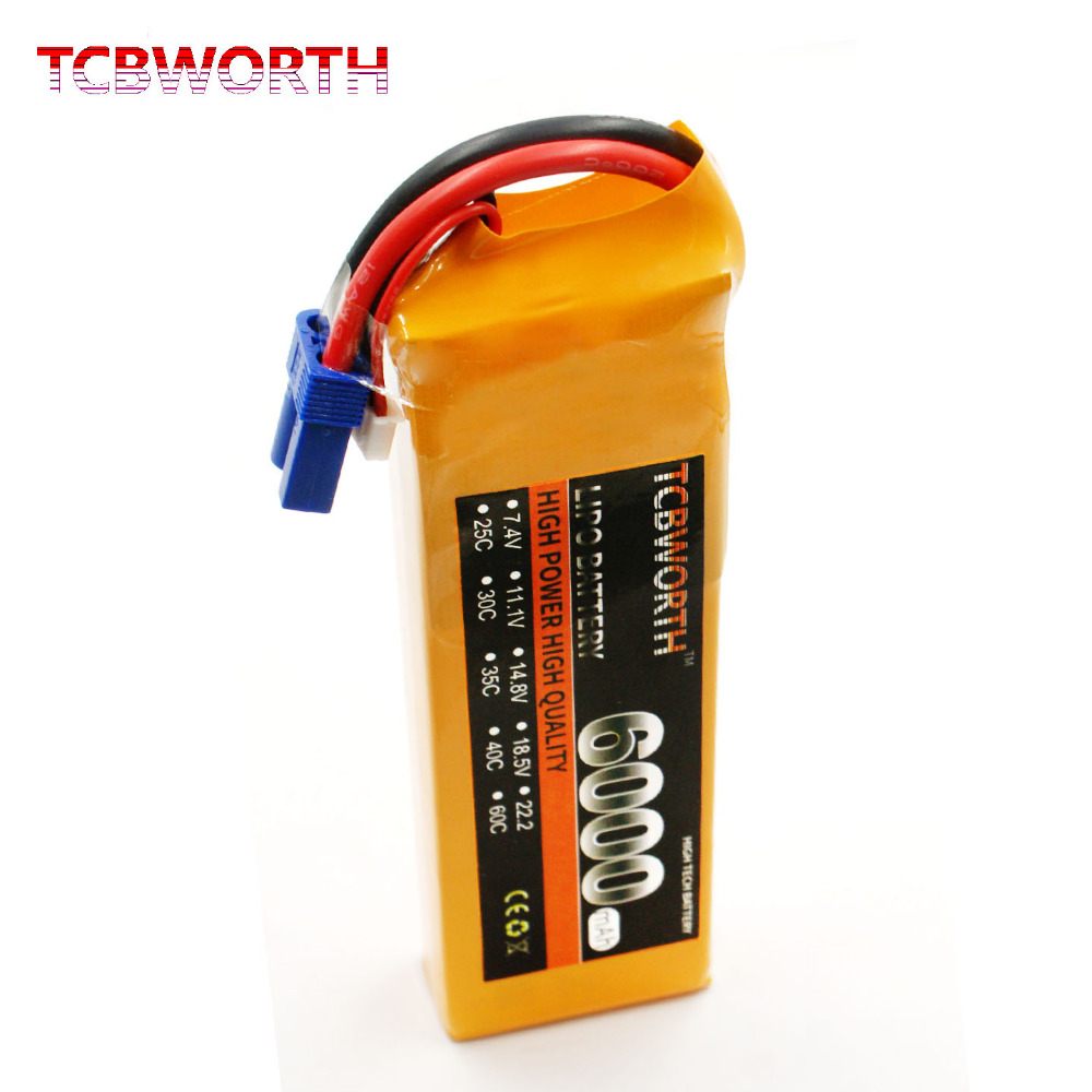 TCBWORTH RC LiPo battery 3S 11.1V 6000mAh 30C For RC Airplane Helicopter Quadrotor Car Boat AKKU Li-ion battery сумки lamagio сумка