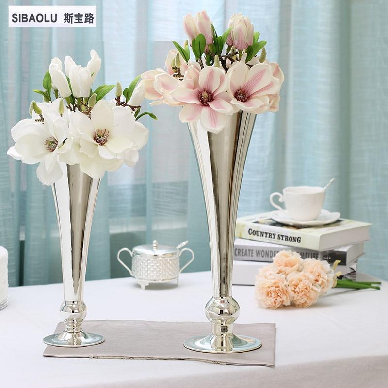Flower Tabletop Vase Decorative Decoration Home Dining Table Decor MariageChina