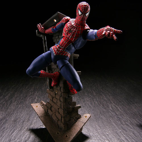 NEW hot 16cm Justice league spider-man spider man movable action figure toys collection christmas toy doll with box spider man toys 2002