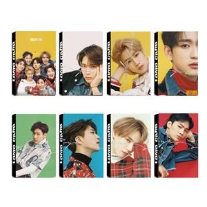 Youpop KPOP GOT7 EYES ON YOU Album LOMO Cards K-POP New Fashion Self Made Paper Photo Card Photocard LK553(China)