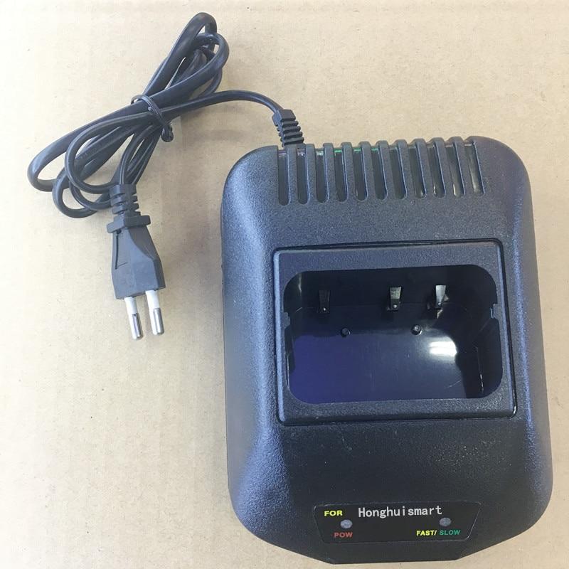 Honghuismart la batterie chargeur pour Kenwood TK3107 TK2107 TK378 TK278 etc talkie walkie pour KNB-14 KNB-15 batterie NI-MH