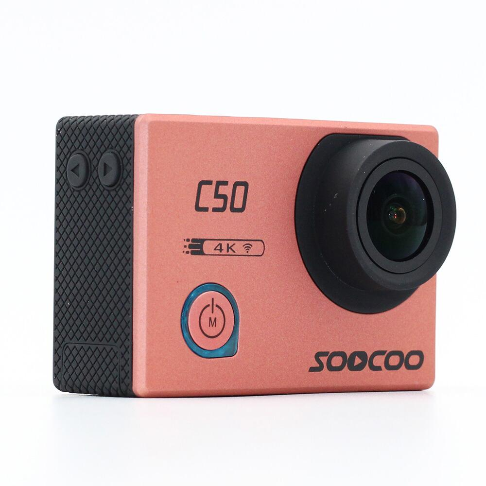 Original SOOCOO C50 Wifi 4K Gyro Sports Action Camera Adjustable Viewing angles NTK96660 30M Waterproof Sport DV