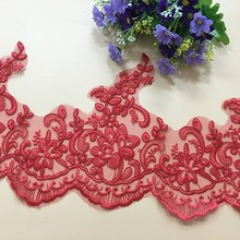 Delicate 9Yards Corded Lace Trim Wedding Dress Bridal Gown DIY Sewing Craft Wedding Appliques Decorations Y04