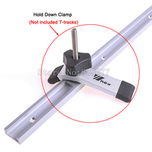 Quick Acting Hold Down Clamps  Device for T-Slot Clamp T-Tracks Wood working Tools KF1019