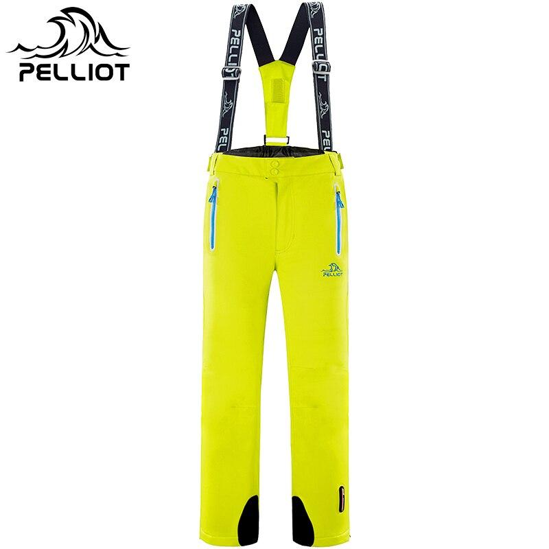 Для мужчин лыжные брюки открытый Водонепроницаемый Пеший Туризм или кемпинг Пант для Для мужчин мужской Лыжный спорт и сноуборд Мотобрюки