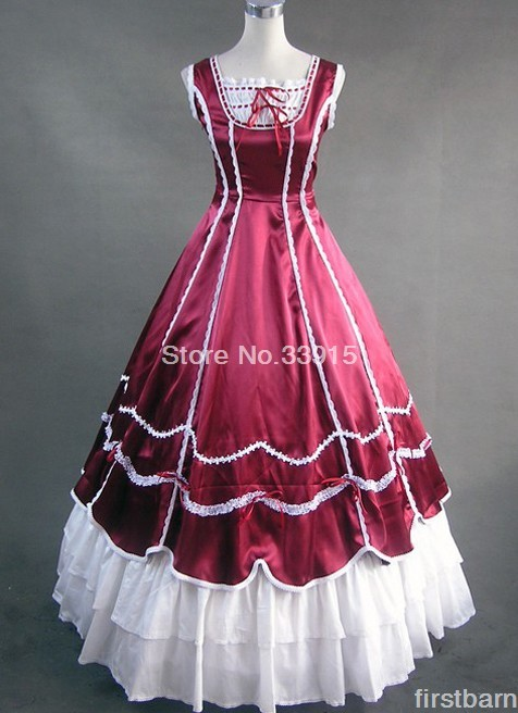 Online Buy Wholesale victorian corset dress from China victorian ...