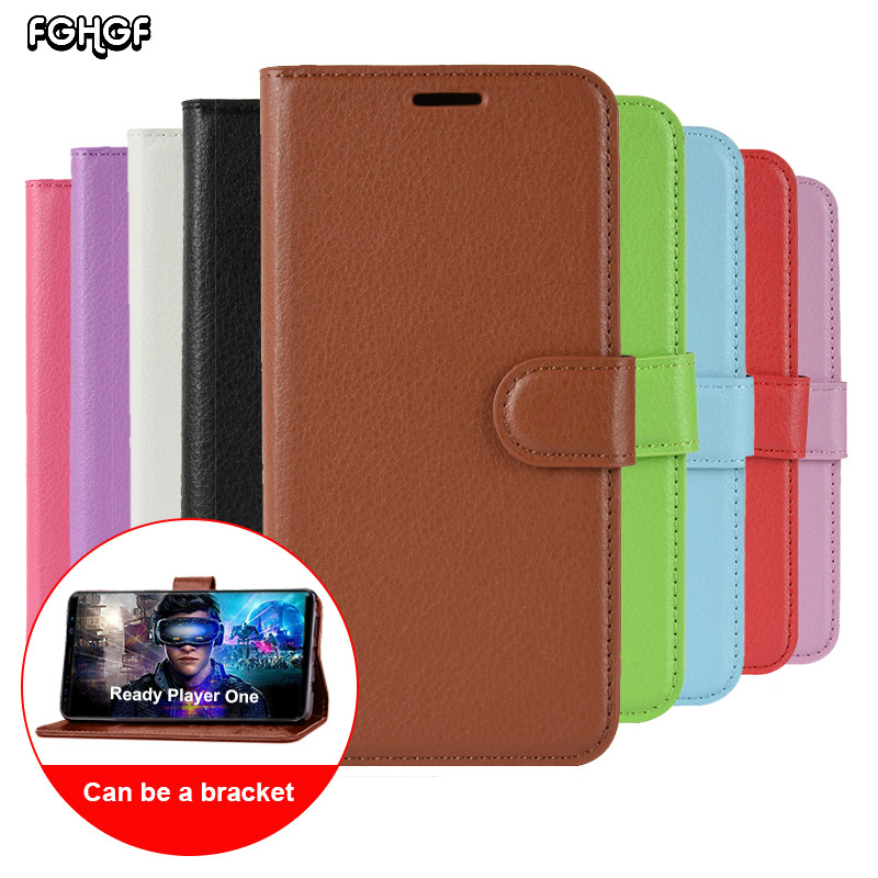 For Vodafone Smart N8 V8 E8 N9 N9 Lite Pu Leather Wallet Flip Stand Case Cover Cell Phone Accessories