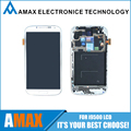 Para Samsung S4 tela LCD ( garantia de 6 mês ) para Samsung Galaxy S4 i9500 i9505 LCD tela de toque com moldura