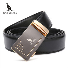 2017 New men's Fashion leather mens belts for men waistband luxury brand designer belts for male Top quality strap free shipping