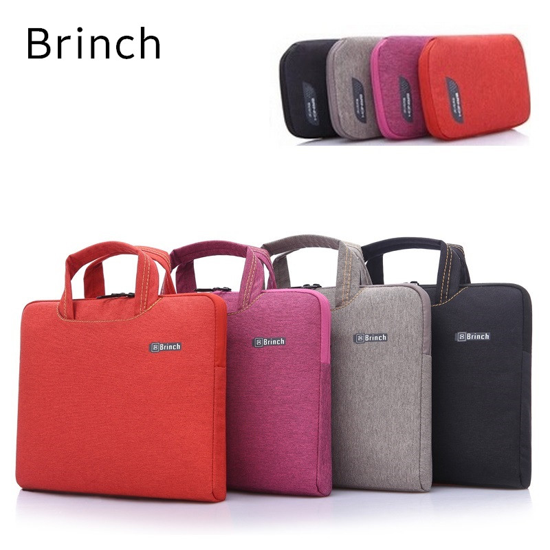 2018 Newest Brand Brinch Handbag Laptop Bag 13″,14″,15″,15.6″,Sleeve Case For Macbook Notebook Air Pro 13.3″,15.4″,Free Shipping