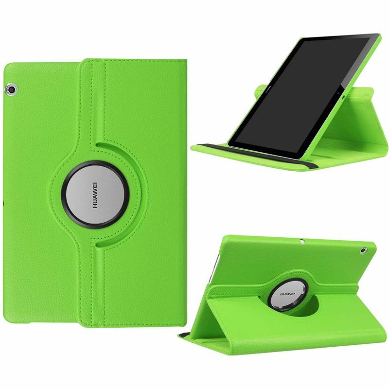 360 Rotating PU Leather Cover Case For Huawei Mediapad T3 9.6