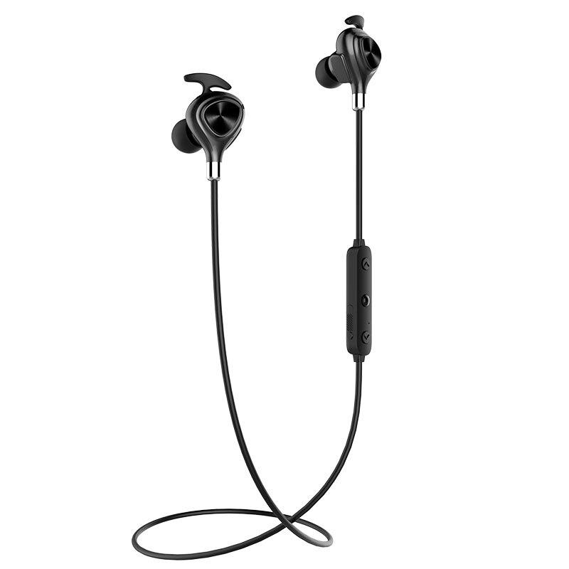IPUDIS Magnetic  Wireless Earphone Sport Stereo Bluetooth Headphone IPX7 Waterproof In-ear Headset With Microphone