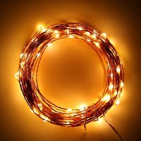 Magicnight 200 Leds 66FT Led Plug In Dimmable String Starry Light Copper Wire Outdoor Decorative Fairy