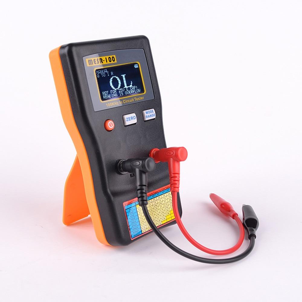 Capacitance Meter Ohm Meter Circuit Tester Digital High Accuracy Measuring Capacitance Resistance Meter Hot Sale Free Shipping free shipping 5pcs 2200uf 25 capacitance olume 10x25 in stock
