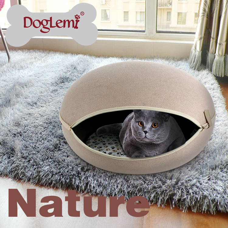 Doglemi მაღალი ხარისხის Cute Cat Bed - შინაური ცხოველების საქონელი - ფოტო 1