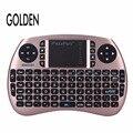 Oro 2.4g mini teclado y ratón combo para android tv box/raspberry pi 3/htpc/google tv/smart tv/ps3