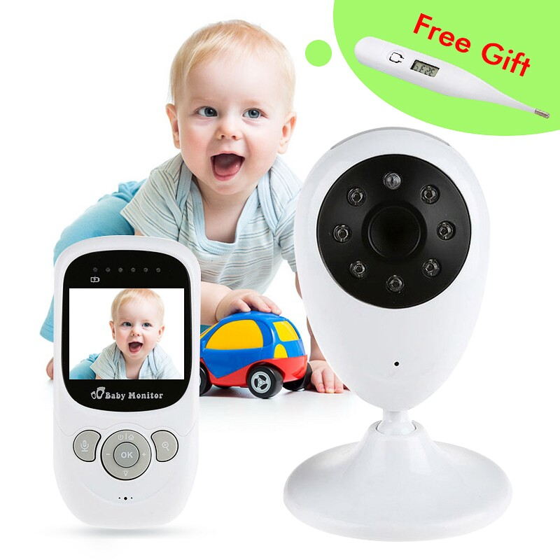SECTEC Video Baby Security Wireless Baby Monitor Digital LCD Screen Night Vision Camera Audio Two-Way Talk Color Smart Camera new 2 4g wireless digital 2 0 lcd baby monitor camera audio talk video night vision baby nanny security camera