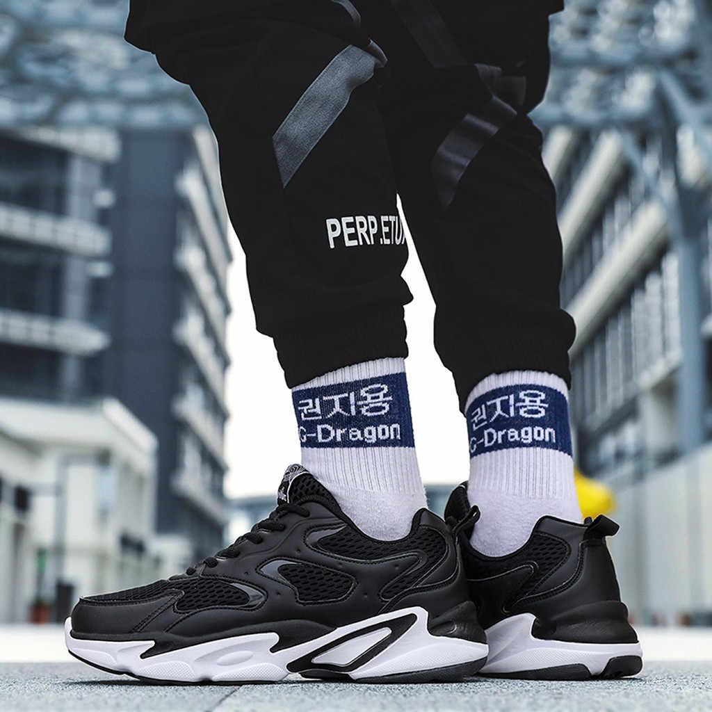 YOUYEDIAN karışık renkler erkekler rahat ayakkabılar artı boyutu Sneakers erkek ayakkabı Sneakers erkek ayakkabısı rahat marka erkek ayakkabı 2019 #713G45